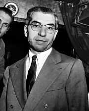 Lucky Luciano #3 Photo 8X10 - New York Mafia Mobster  Buy Any 2 Get 1 FREE