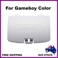 Nintendo Gameboy Color Battery Door Back Lid Replacement Cover Case White