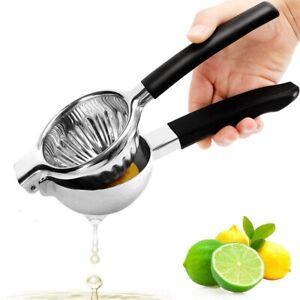 Fruit Orange Juicer Lime Clamps Citrus Press Lemon Squeezer Tool Stainless Steel