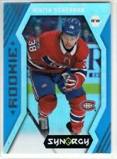 NIKITA SCHERBAK 2017-18 Synergy Blue Rookie Montreal Canadiens Upper Deck RC