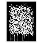 Bisco Smith Methods Manifest Print Art Signed SN Cripta Djan Retna | # of 111