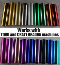 Todo Craft Dragon Hot Foil Machine Heat Go Press Quill Pen Foil 12cm x 10m