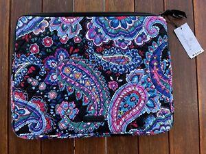 Vera Bradley Laptop Sleeve HAYMARKET PAISLEY #2110