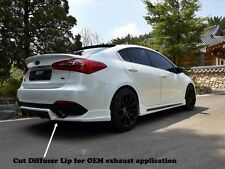 ZEST Rear Diffuser Lip for KIA Forte K3 Sedan 2014+