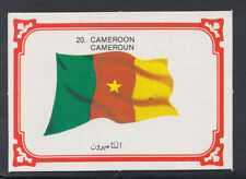 Monty Gum 1980 Flags Cards - Card No 20 - Cameroon  (T614)