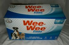 """Wee-Wee Pads Standard Size 22""""x23"""" Quilted Pads 73 Count Open Box"""