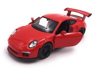 Porsche 911 991 GT3 RS Modellauto Auto LIZENZPRODUKT 1:34-1:39 versch. Farben