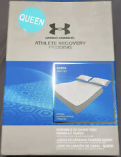 Under Armour Athlete Recovery Queen Bedding Set White 1325129-100