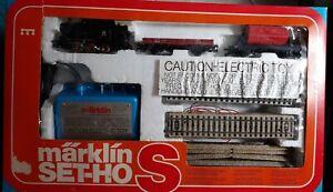 Vintage Marklin HO M-Track 0-6-0 DB 89006 Steam Set Complete! #2937