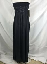Boston Proper Formal Strapless Full Length Maxi Dress Womens Medium M