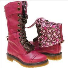 Dr. Martens Triumph 1914 Boots Leather Floral 5