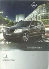 MERCEDES GLK-Klasse X204 Istruzioni d´uso 2009 Bedienungsanleitung  BA