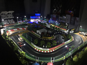 Scalextric Track Lights Street  lamps LED White Slot car Model Formula 1 F1