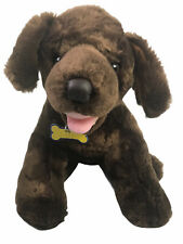 "14"" Build a Bear Brown Lab Labrador Retriever Puppy Dog Plush"