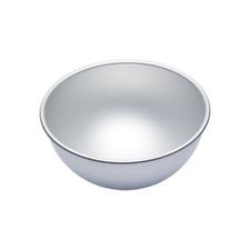 "KitchenCraft MasterClass Silver Anodised Hemisphere Cake Tin, 20 cm (8"")"