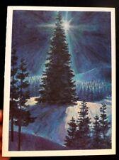 VINTAGE GENERAL MOTORS CHRISTMAS CARD SIGNED E. COLE PRESIDENT J. ROCHE CHAIRMAN