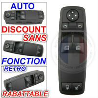 bouton interrupteur commande de leve vitre mercedes   A1698206410 - 1698206410
