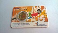 Nederland 2016 Coincard 0,10 Euro Geluksdubbeltje (Gekleurd)
