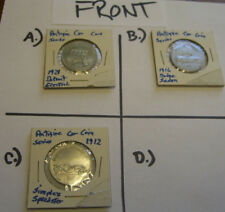 Vintage Sunoco Antique Car Coin Series Tokens (Sold individually/ Pick1)