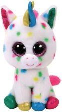Ty Beanies Harmonie El Unicornio 15cm Purpurina Ojos