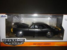Jada Chevrolet Camaro 1967 Matt Black 1/24