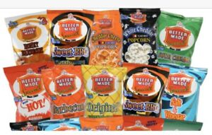 Better Made Potato Chips Full size bags Choose Flavor Made In Detroit