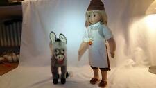 Steiff 703072 Puppe Steiff Tischlein deck dich mit Esel rarität