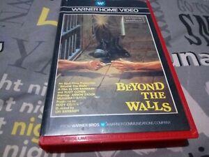 beyond the walls - Dutch warner pre cert- VHS  please read discription. No mould