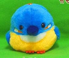 Kotori Tai Fluffy Birds 3'' Kawasemi Kingfisher Amuse Prize Plush Key Chain NEW