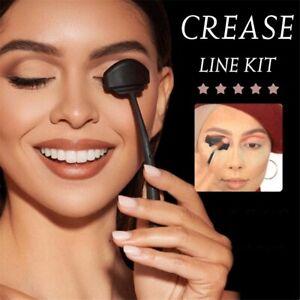 Hot 6in 1 Crease Line Kit Set Eye Shadow Applicator Silicone Stamp Makeup Tool