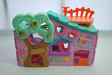 Littlest Pet Shop Purple Treehouse Playhouse + 4 Pets