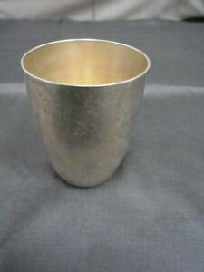 SP420-835er Silber Becher Höhe 6,5 Öffnung d.m 5,0 cmGewicht 49 Gramm