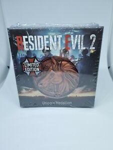 Resident Evil 2 Replica Unicorn Medallion