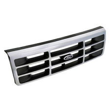 92-96 Ford Bronco F150 F250 F350 Chrome Radiator Grille Assembly OEM F4TZ8200A