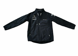 Mclaren Official Licensed Product Mens Softshell Full Zip Jacket SIZE Small
