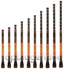 Slide Didgeridoo-Trombone Didgeridbone adjustable key/pitch *Dot-Painted Lizard*