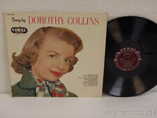 DOROTHY COLLINS Songs By Dorothy Collins 1957 Coral CRL 57106 Barney Kessel Trio