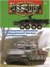 Concord Publications Company Vol. 13 Journal of Armored & Heliborne Warfare 7813