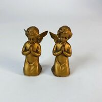 """Vintage plastic angels  Made in Hong Kong  2"""" tall"""