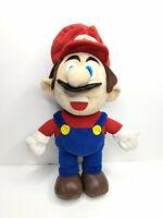 Talking Super Mario Plush Figure 1997 Treasures, Inc. Nintendo 64 Era Toy WORKS