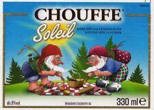 CHOUFFE SOLEIL - STRONG BEER - BELGIEN 2017 - BEER LABEL / ETIQUETTES / ETIKETT
