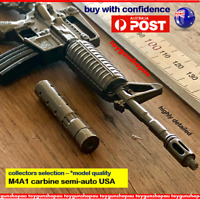 M4A1 Keyring PUBG M4 Model NATO Assault Rifle METAL Gun Keychain M4 gun keyring