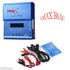 iMAX B6AC 80W LCD Screen Digital RC Lipo NiMh Battery Balance Charger Discharger