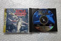 "Battle Garegga ""Very Good Condition"" Sega Saturn Japan Video Game"