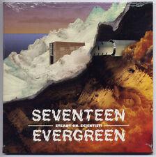 SEVENTEEN EVERGREEN Steady On, Scientist! 2012 UK 8-trk promo CD SEALED