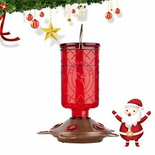 �Bolite 18005 Hummingbird Glass Feeders, 5 Stations, 22 Ounces, Red Bottle�