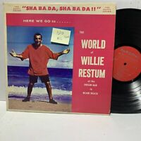 Willie Restum The World Of- Here Wer Go Records VG/VG+ Signed