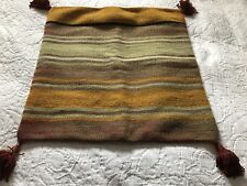 "Pottery Barn Wool Kilim Stripe Pillow Cover 24"" x 24"""