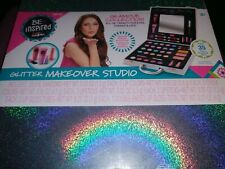 CraZart Glitter Makeover Studio All-in-One Brand New! Lips, Eyes And Cheeks