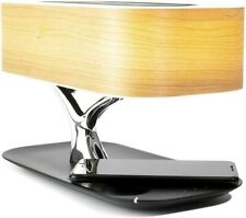 iPrince Tree of Light -Bedside Table Lamp w/ Built-in Speaker, Charging
